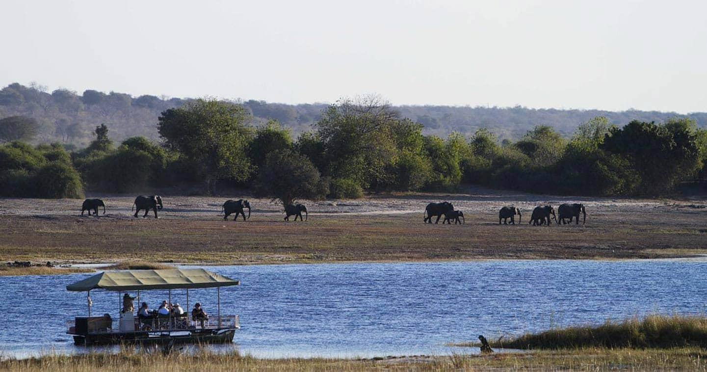 Let Chobe Game Lodge take you on Boat Trip in Chobe National Park