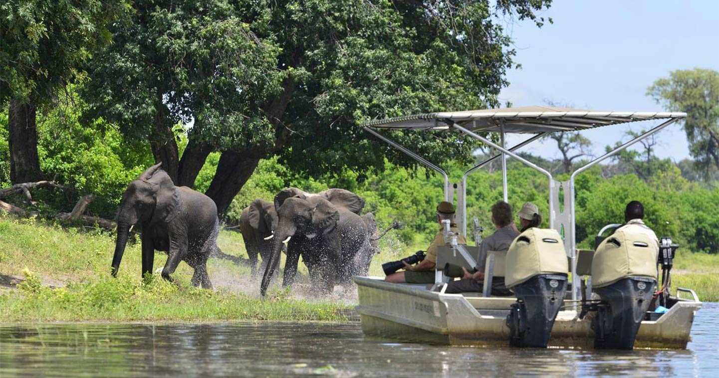 Botswana river cruise: Chobe Princess