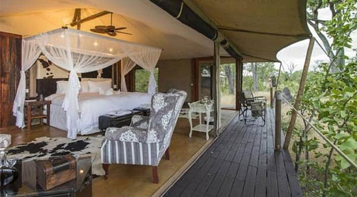 Chobe safari special offer at Camp Kuzuma