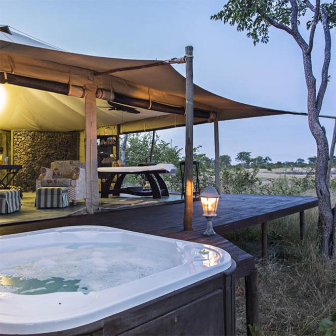View Camp Kuzuma information in Chobe NP Botswana