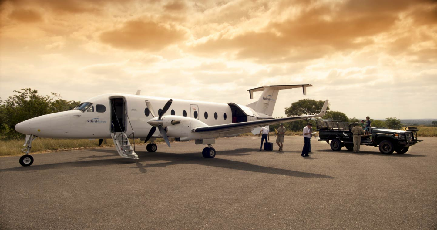 Easy access charter flight to Chobe National Park