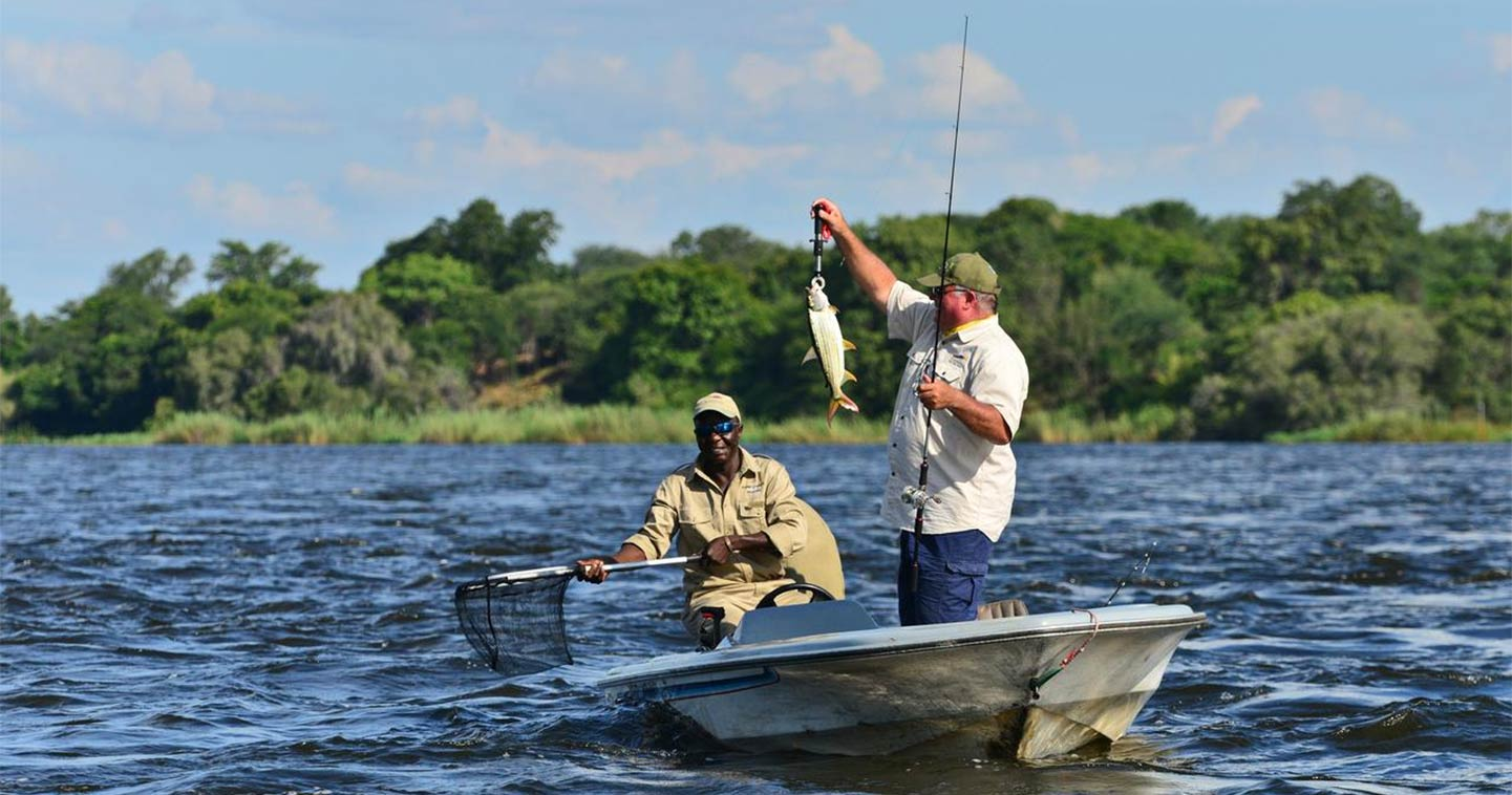 Chobe Princess National Park in Botswana