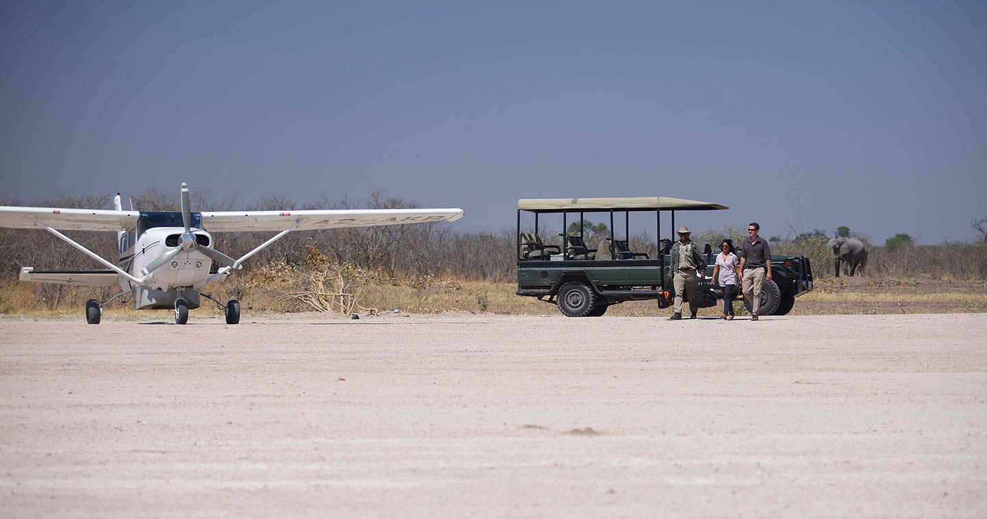 Chobe Botswana Savute Under Canvas