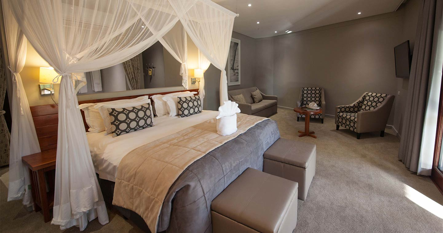 Chobe Bush Lodge bedroom