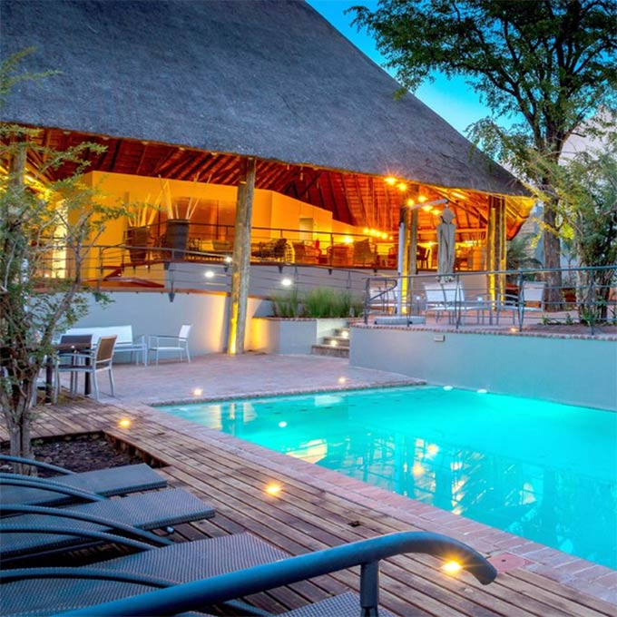 View Chobe Game Lodge in Chobe National Park