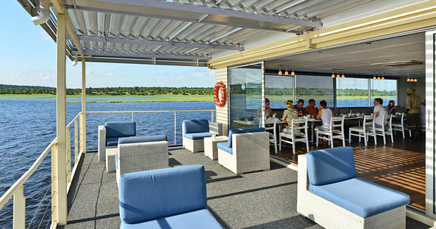 Chobe National Park Botswana river cruise