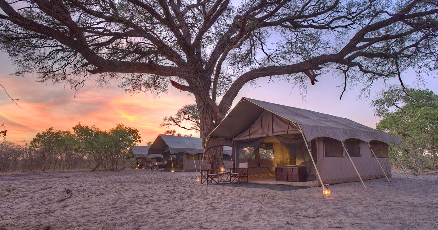 Savute Under Canvas luxury lodge in Chobe