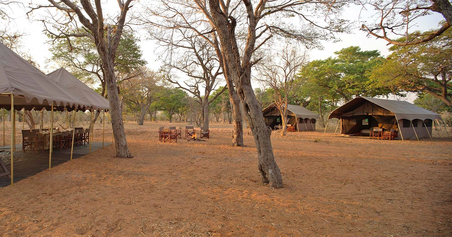 Outdoor living at Chobe Under Canvas in Chobe National Park