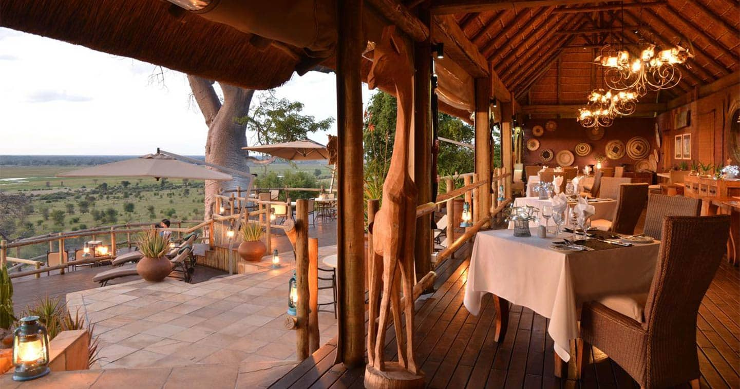Dining in a Luxury Setting at Ngoma Safari Lodge
