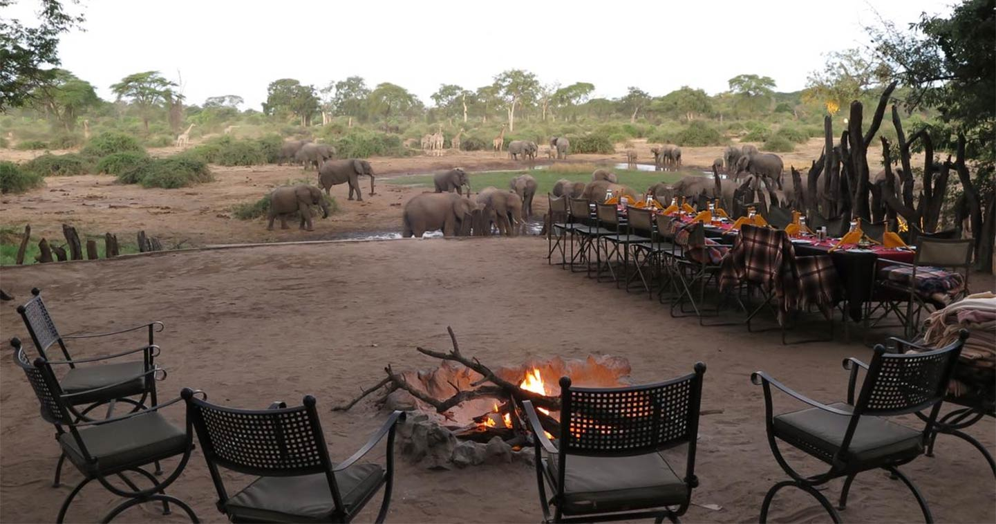 Elephant Valley Lodge in Chobe Botswana