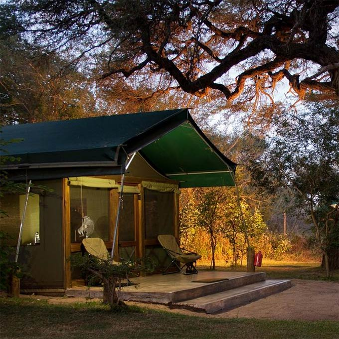 View Elephant Valley Lodge information, Chobe in Botswana