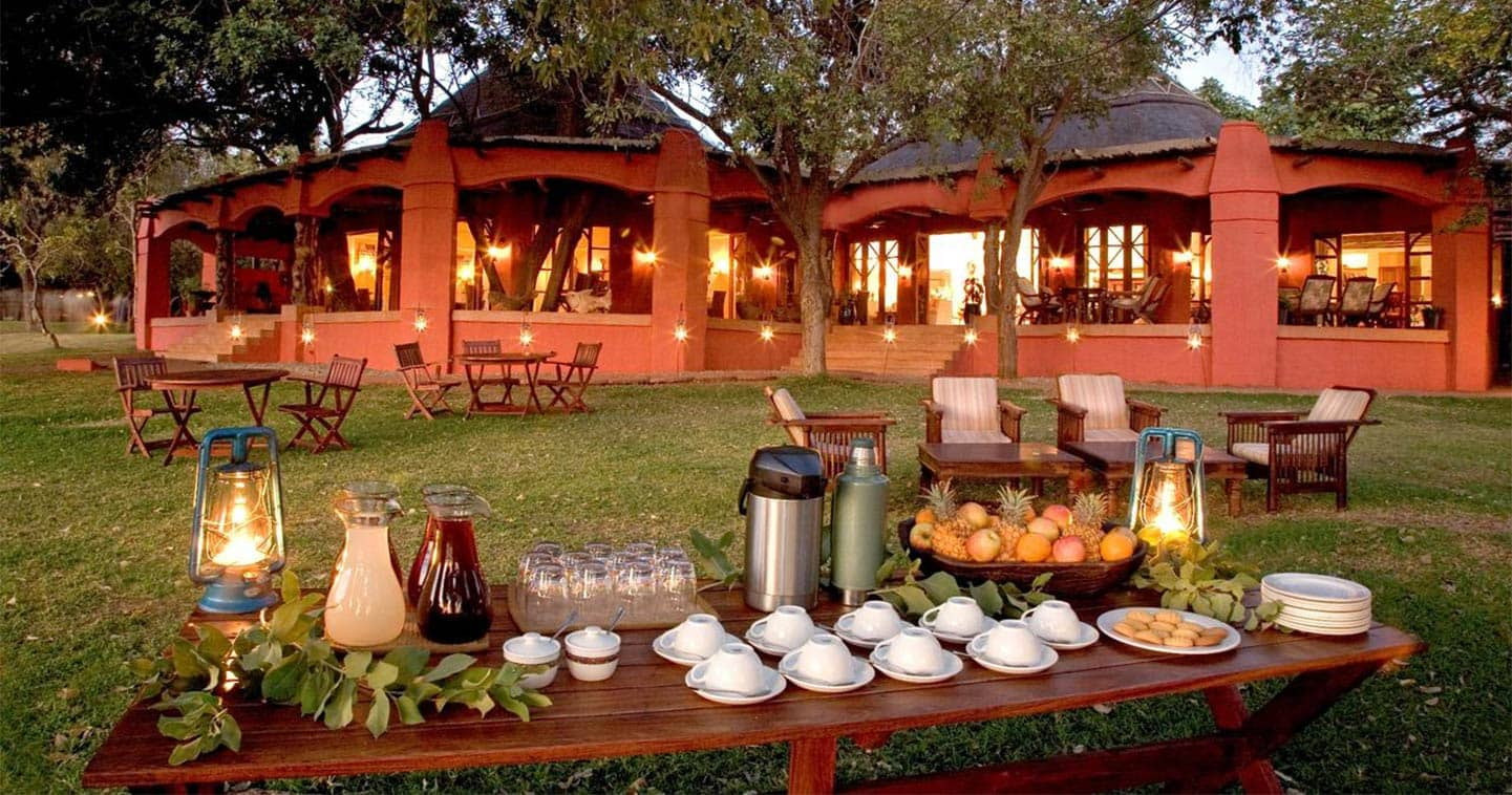 Enjoy the Exellent Food in Sanctuary Chobe Chilwero in Chobe National Park