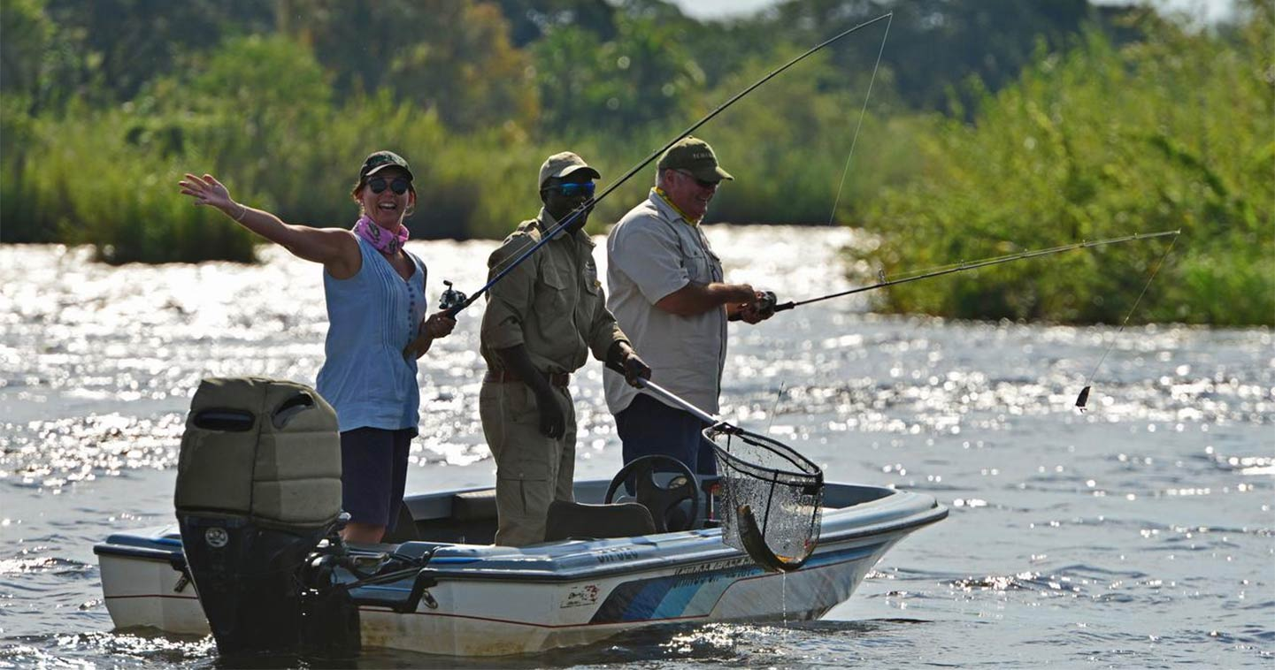 Fishing on the Chobe River - Ichingo Lodge