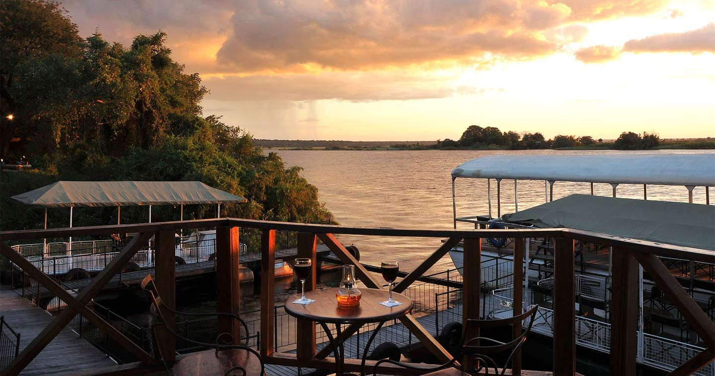 Luxury lodge Chobe Marina in Botswana