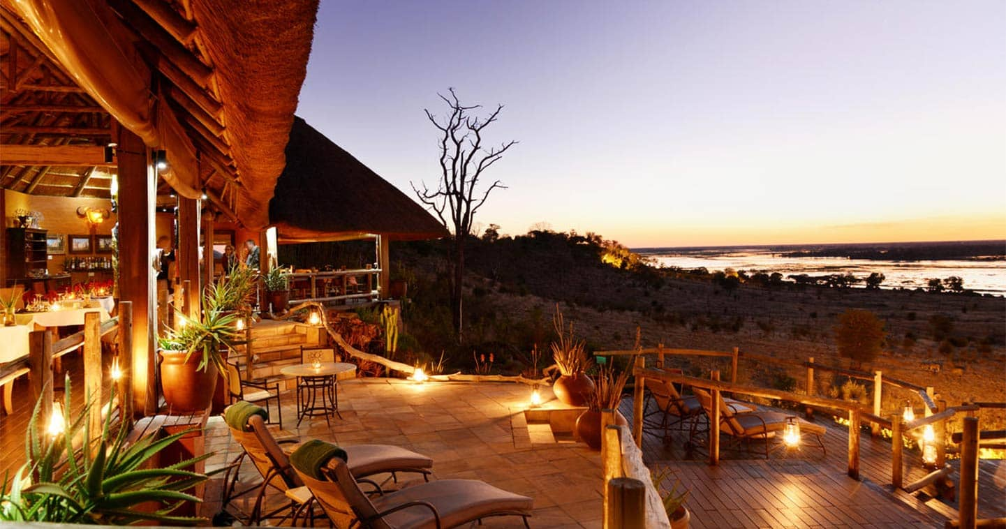 Ngoma Safari Lodge Main Deck in Chobe National Park