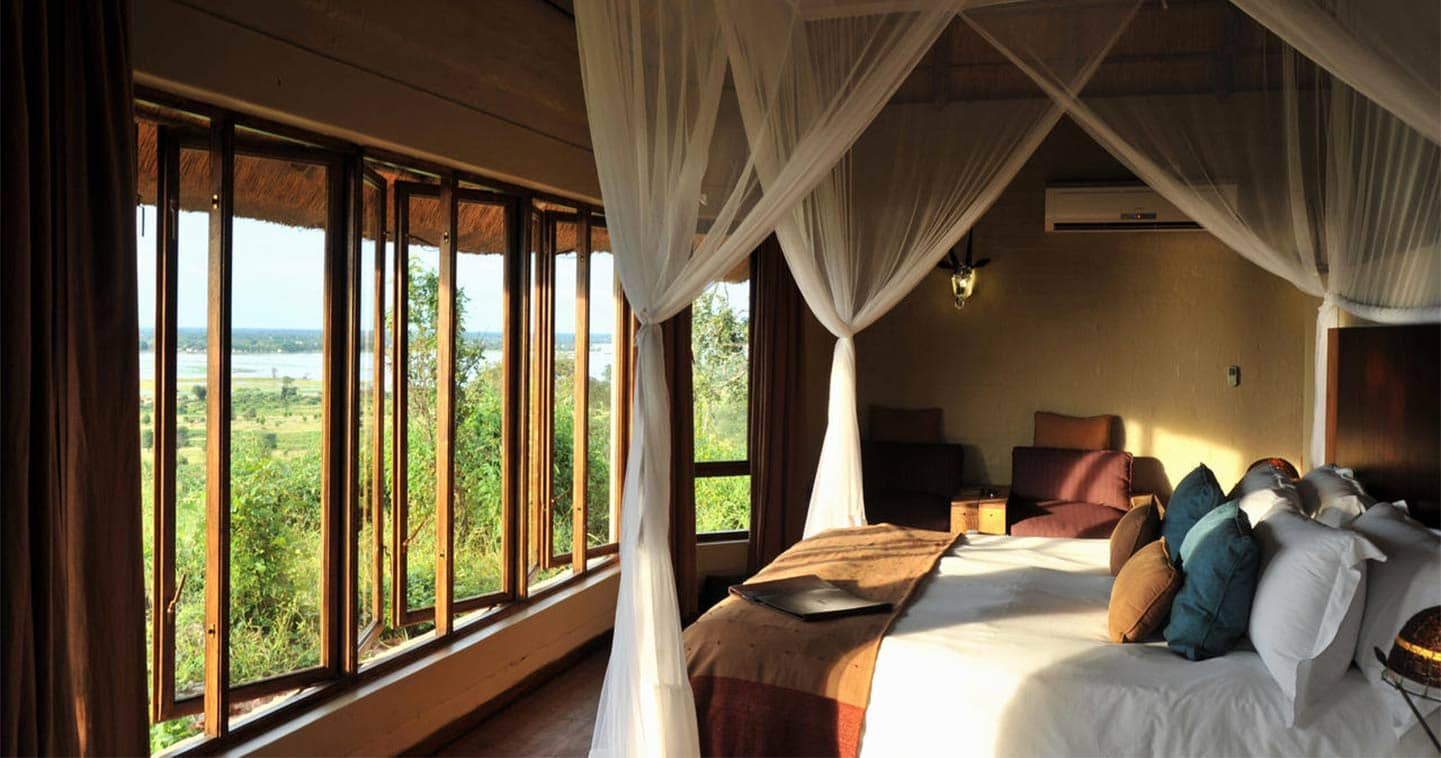 Luxury Bedroom in Ngoma Safari Lodge in Chobe National Park