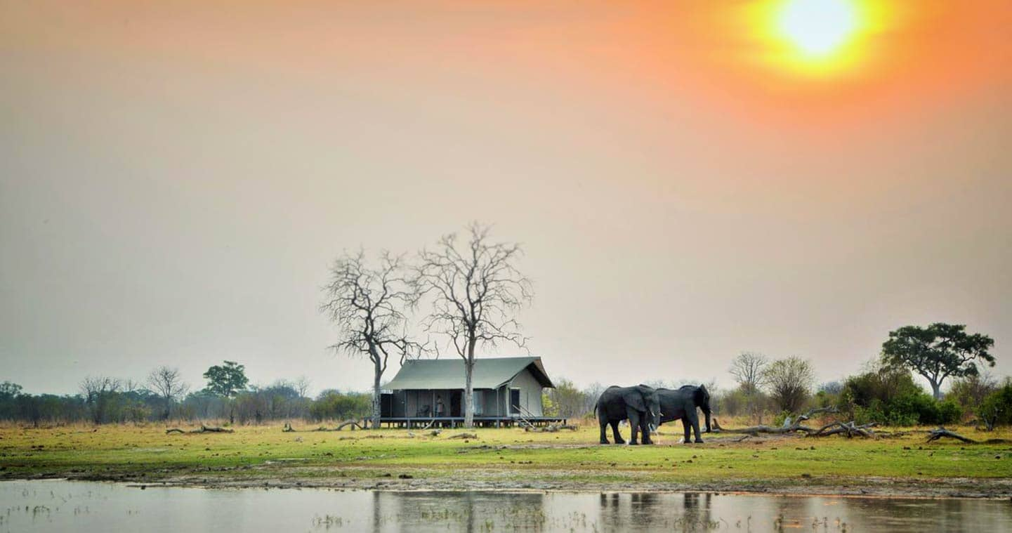 Nogatsaa Pans Lodge in Chobe National Park, Botswana