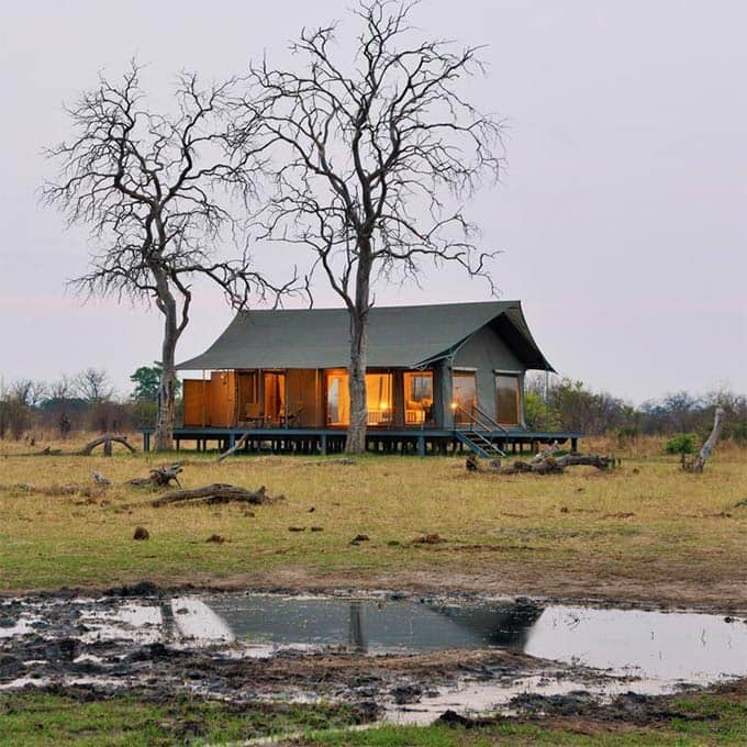 View Nogatsaa Pans Lodge in Chobe, Botswana