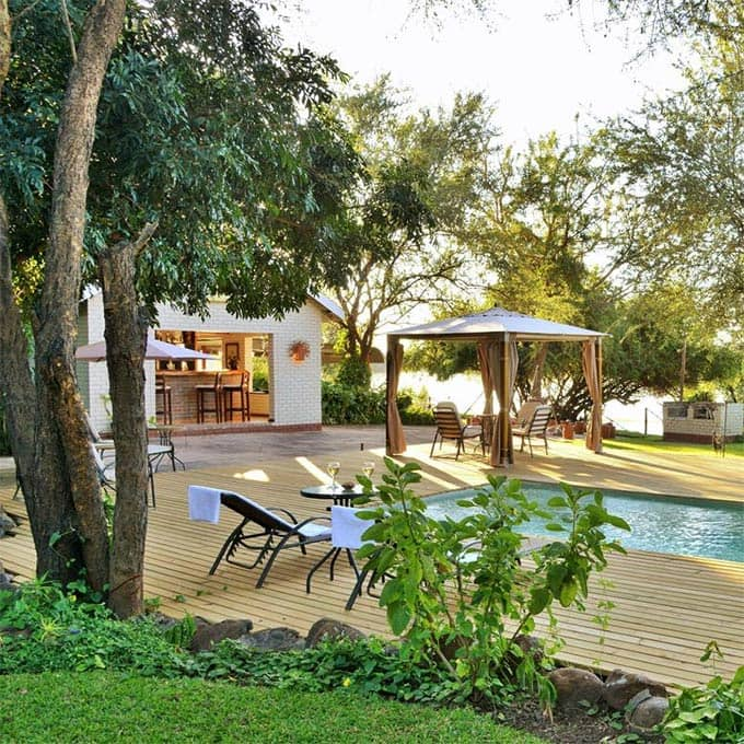View River View Lodge information in Kasane, Botswana