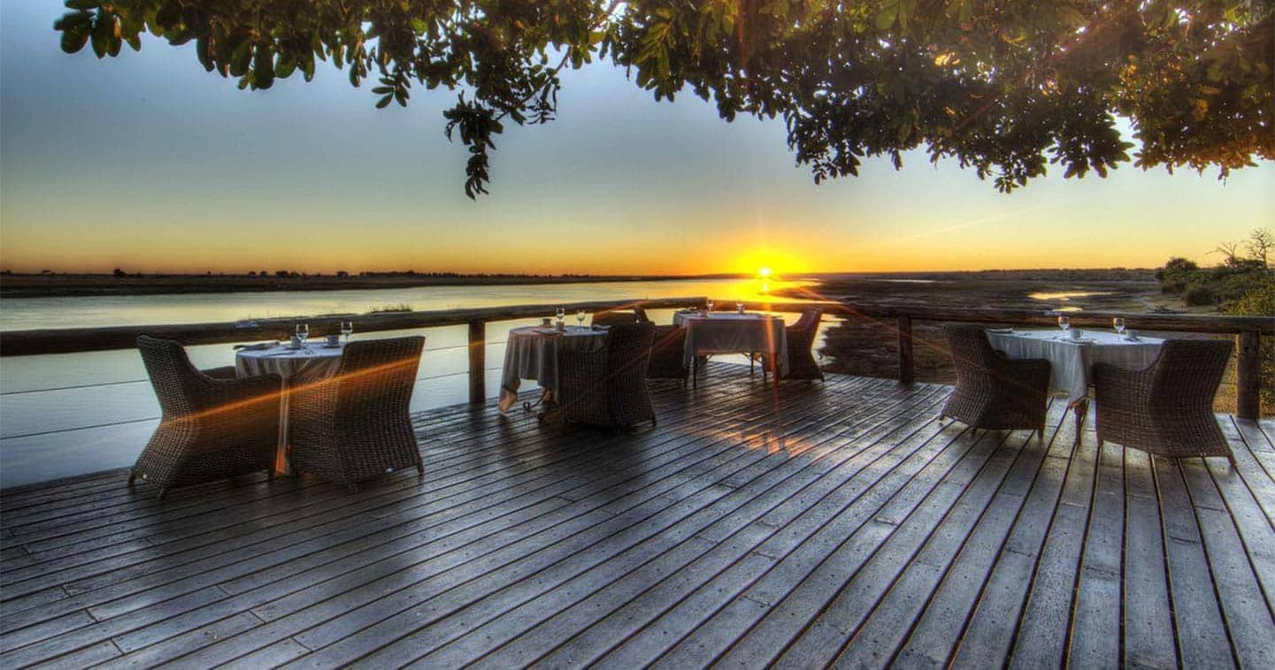 Enjoy a Romantic Dinner in Chobe Game Lodge