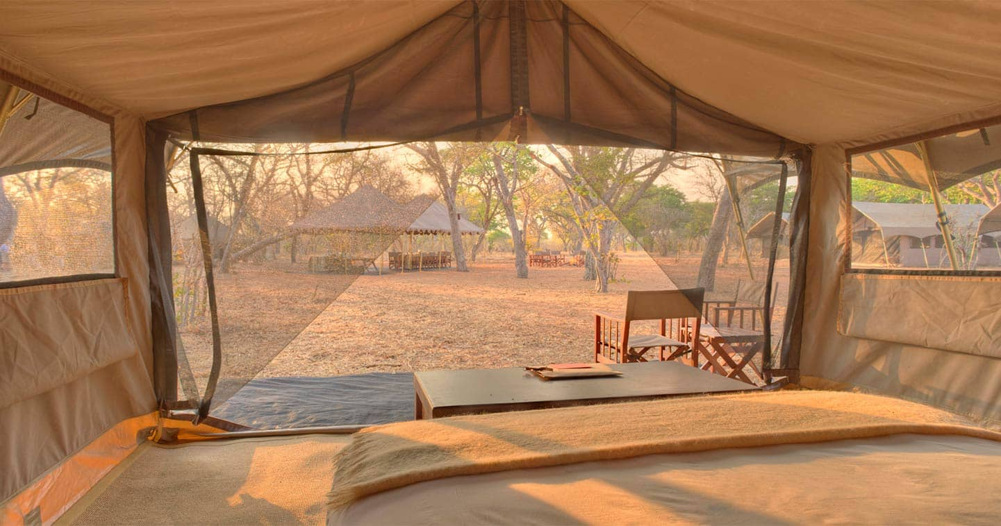 Enjoy a luxury safari at Chobe Under Canvas in Chobe National Park