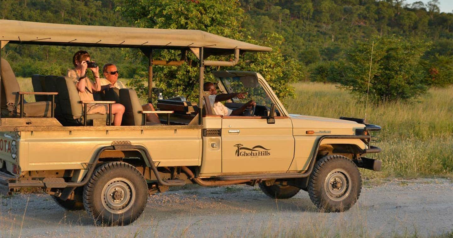 Let Ghoha Hills Savuti Lodge take you on Game Drive in the Chobe National Park
