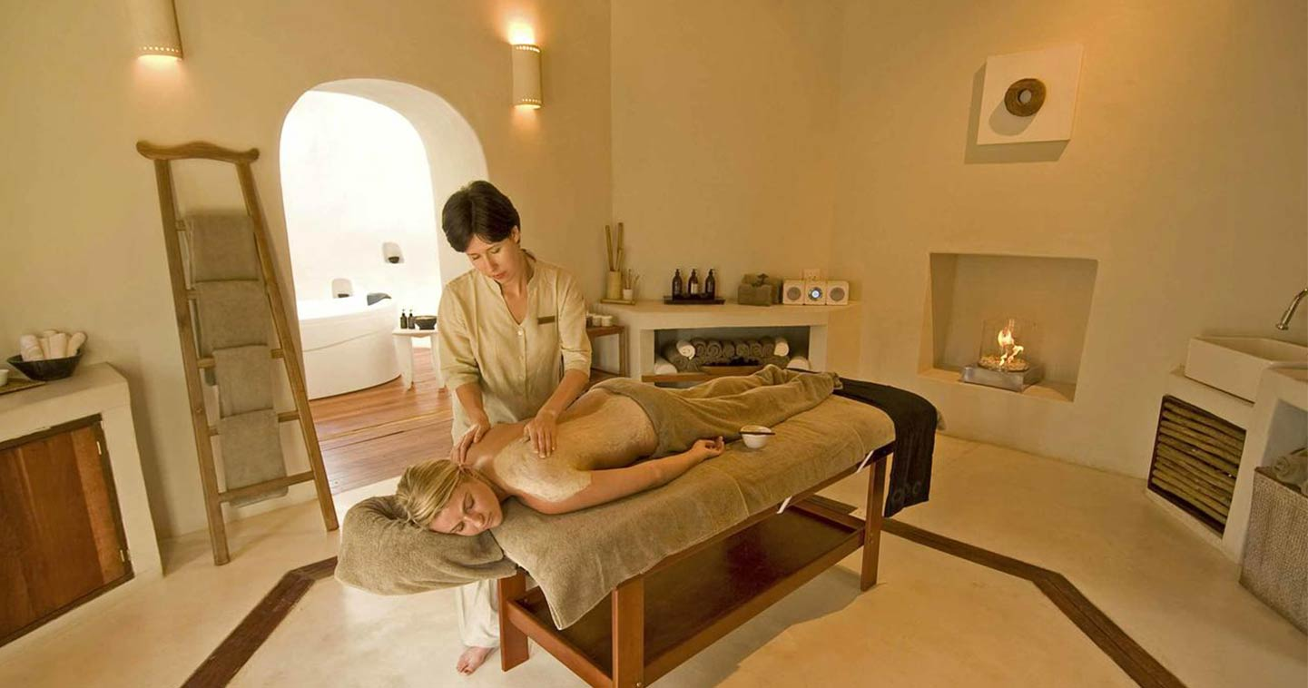 Complete Relaxation at the Spa in Sanctuary Chobe Chilwero