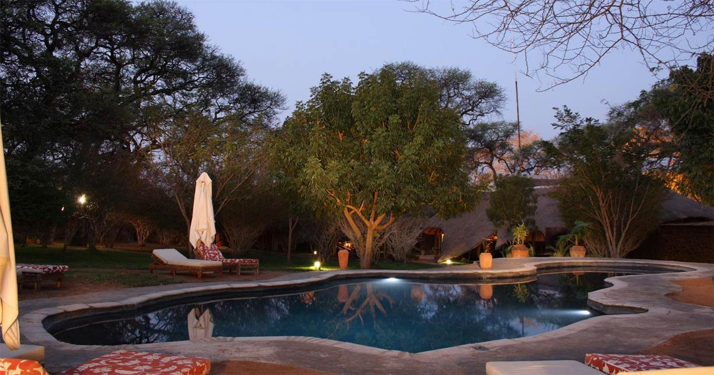 Swimming pool at Chobe Elephant Valley Lodge