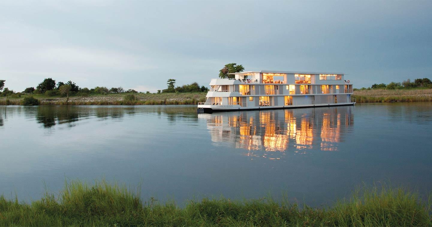 Zambezi Queen Boat Cruise In Chobe National Park Luxury